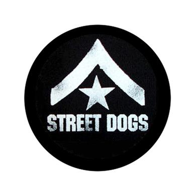 1in Street Dogs Army Button