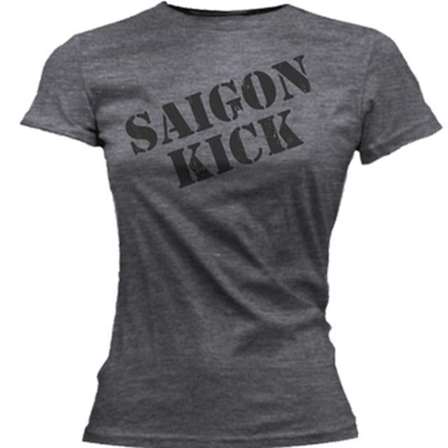 Saigon Kick Classic Stencil Logo Ladies tee