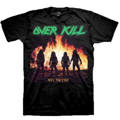Overkill Feel The Fire T-shirt
