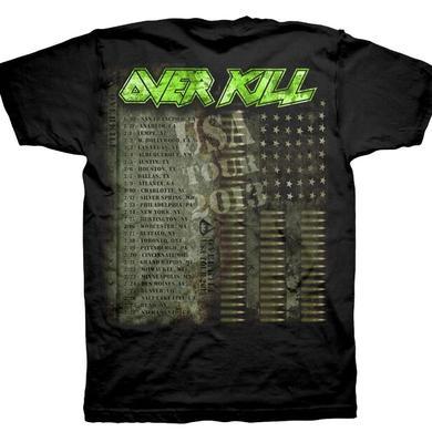 Overkill Bullet Skull Tour Dates