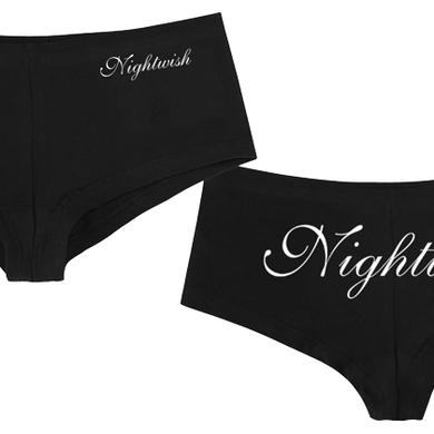 Nightwish Logo Booty Shorts