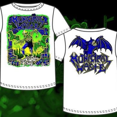 Municipal Waste Gaither White TShirt