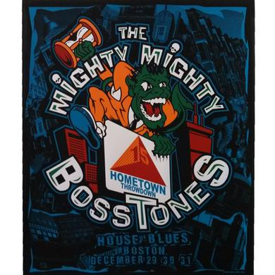Mighty Mighty Bosstones Throwdown 15 Screen Printed Poster