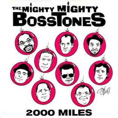 Mighty Mighty Bosstones 2000 Miles LP Pink VInyl