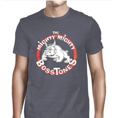 Mighty Mighty Bosstones Bulldog Circle Heather Tee