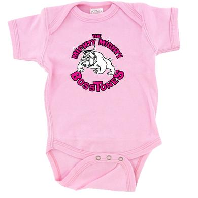 Mighty Mighty Bosstones CIRCLE BULLDOG - PINK ONESIE