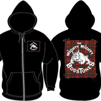 Mighty Mighty Bosstones PLAID PATCH/ ZIP HOODIE
