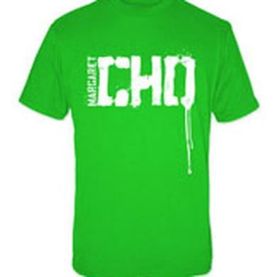 hold CHO LOGO DRIP/GREEN TSHIRT