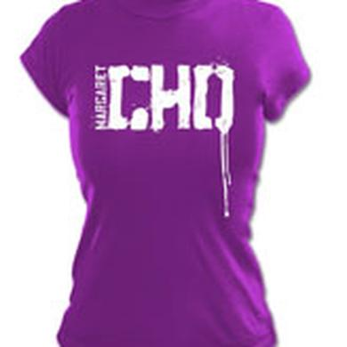 hold CHO LOGO DRIP/PLUM GIRL TSHIRT