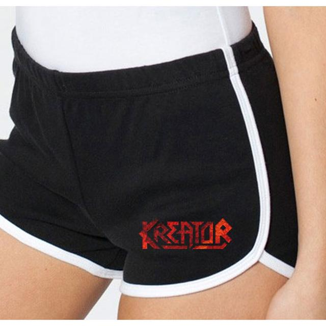 Kreator Black & White Running Shorts