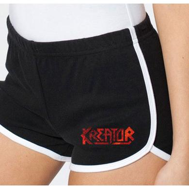 Kreator Black & White Running Shorts