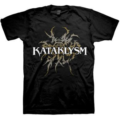 Kataklysm Gold Tribal Logo T-Shirt