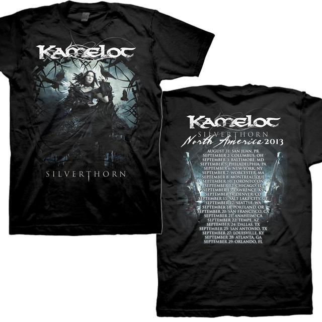Kamelot Silverthorn Summer 2013 Tour T-Shirt