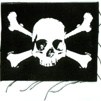 Pricebusters SKULL AND CROSS/PATCH