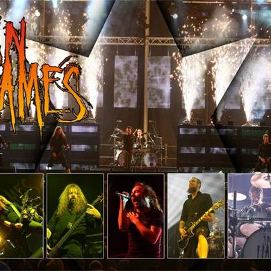 In Flames INFLAMES LIVE POSTER 18X24