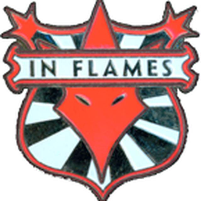 IN FLAMES/ SOFT ENAMEL PIN