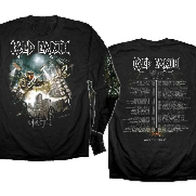 Iced Earth Dystopia Longsleeve Tour Tee