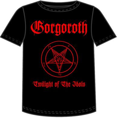 Gorgoroth Twilight of the Idols TShirt