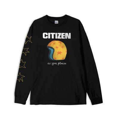 Citizen RACER LONGSLEEVE (BLACK)