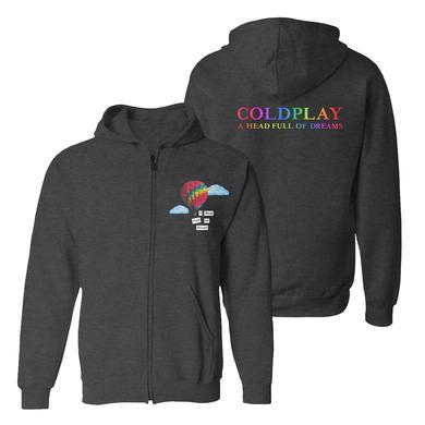 Coldplay AHFOD Full-Zip Unisex Hooded Sweatshirt