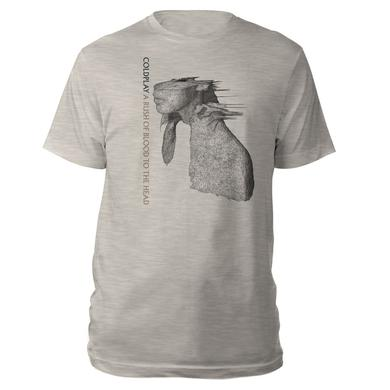Coldplay A Rush Of Blood To The Head Album Cover Tee