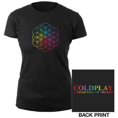 Coldplay Flower Of Life Women's Tee