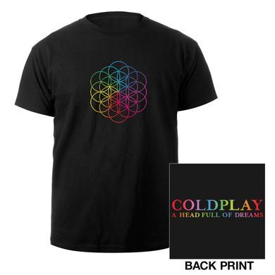 Coldplay Flower Of Life Women's Tee