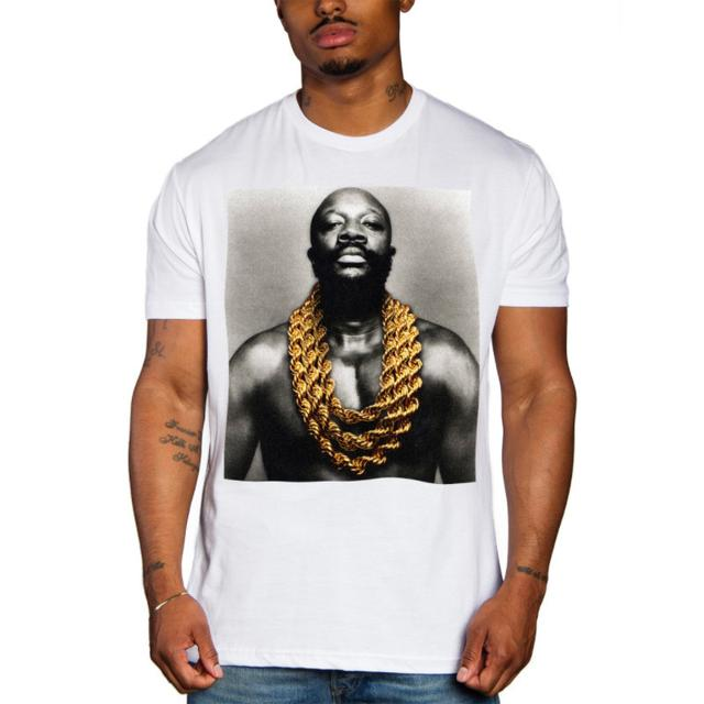 Isaac Hayes Solid Gold Tee (White)