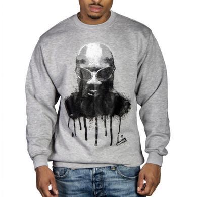 Isaac Hayes Grey Drippin Soul Sweatshirt