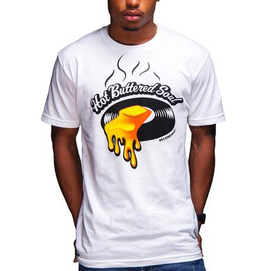 Isaac Hayes Hot Buttered Soul Recordings Tee (White)