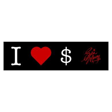 Eddie Money I Love Money Bumper Sticker
