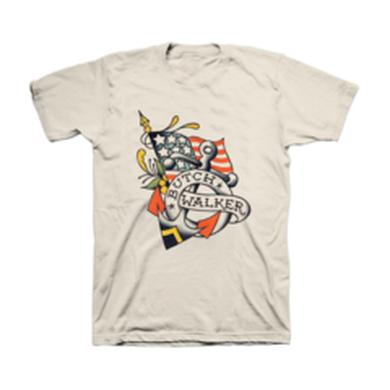 Butch Walker Flag and Anchor Tee