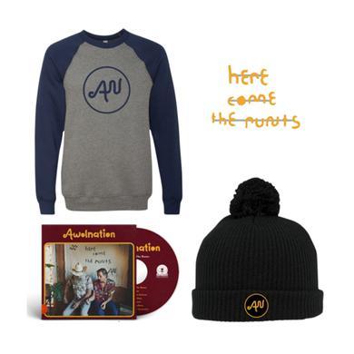 Awolnation CD + Crewneck + Beanie + Pins