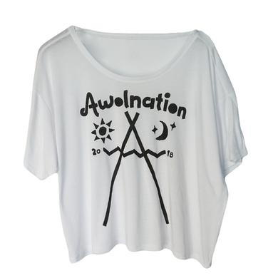 Awolnation Tribal Crop Top