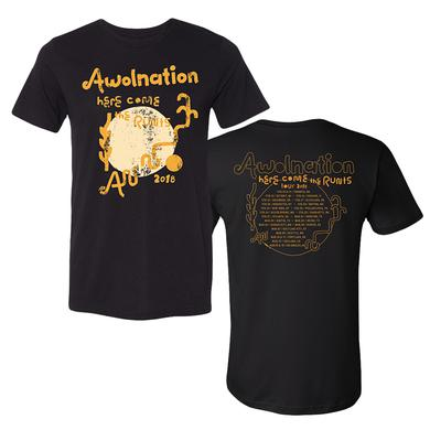 Awolnation Here Come The Runts 2018 Tour Tee