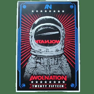AWOLNATION Astronaut Poster