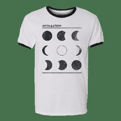 Awolnation Moon Chart Ringer Tee