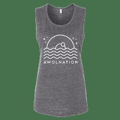 Awolnation Wavy Tank Top