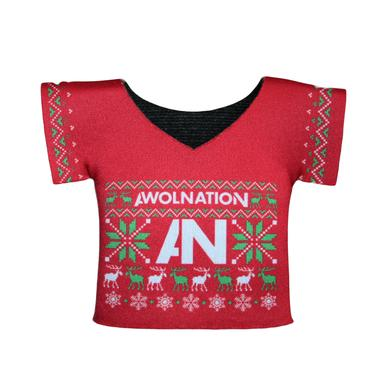 Awolnation Christmas Sweater Koozie