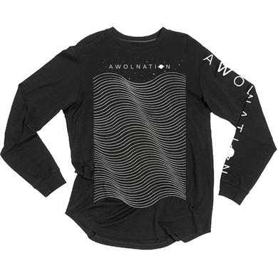Awolnation Space Waves Longsleeve Tee