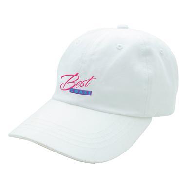 Best Coast Dad Hat - White