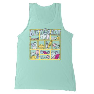 Best Coast 'Jewels' Women's Racerback Tank