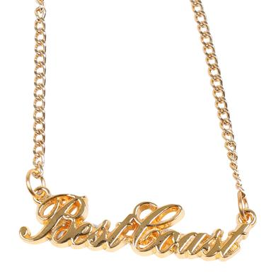 Best Coast 'Cursive' Logo Necklace