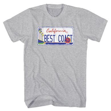 Best Coast 'License Plate' T-Shirt