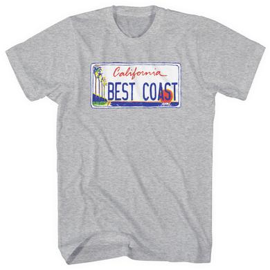Best Coast 'License Plate' T-Shirt