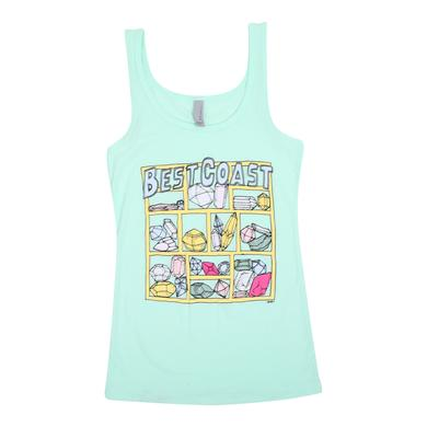 Best Coast 'Jewels' Women's Tank Top