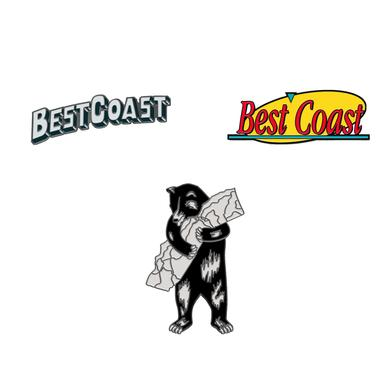'Best Coast' Lapel Pins