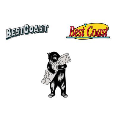 'Best Coast' Lapel Pins