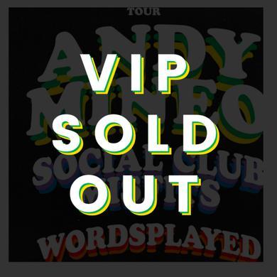 Andy Mineo SEPT 25 - Denver, CO - Miner League Presents - Friends & Family Tour VIP