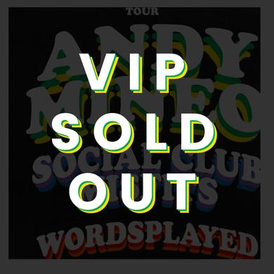 Andy Mineo OCT 7 - Dallas, TX - Miner League Presents - Friends & Family Tour VIP
